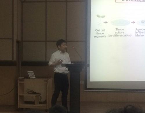 インド工科大学マドラス校での講演会