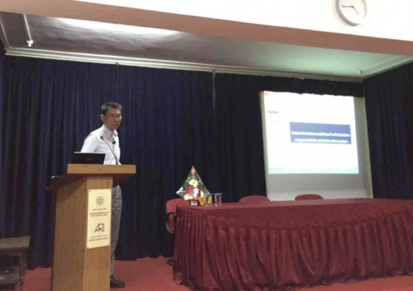 Agharkar研究所での講演会