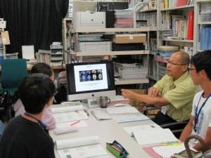 内山助教 「高齢化問題と介護」