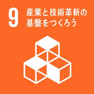 SDGsゴール9ロゴ日本語